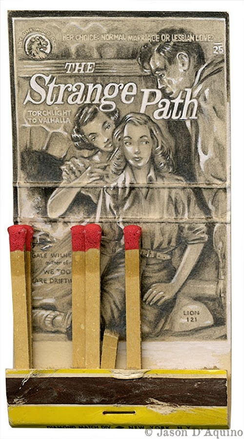 15-Strange-Path-Jason-D-Aquino-Vintage-Matchbook-Drawings-www-designstack-co