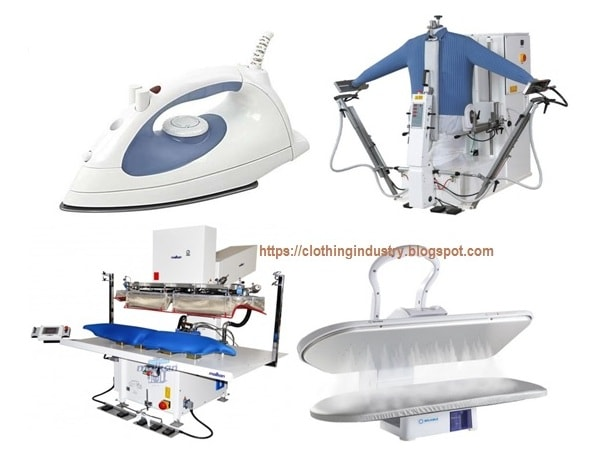 Pressing equipments of garments