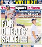 Yankees pain wins a back page
