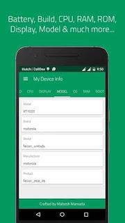 My Device Info