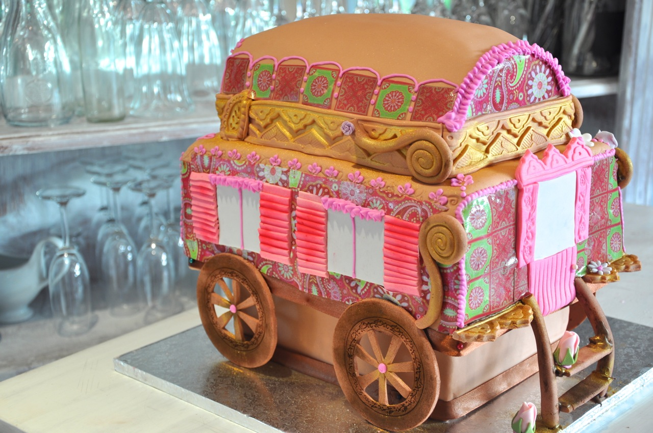Rozanne S Cakes Gypsy Caravan Birthday Cake
