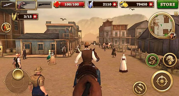Download West Gunfighter Mod Apk Unlimited Money Terbaru