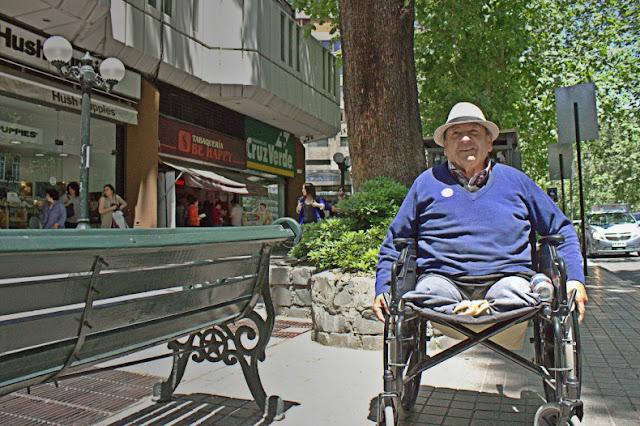 Deficientes físicos em Santiago do Chile