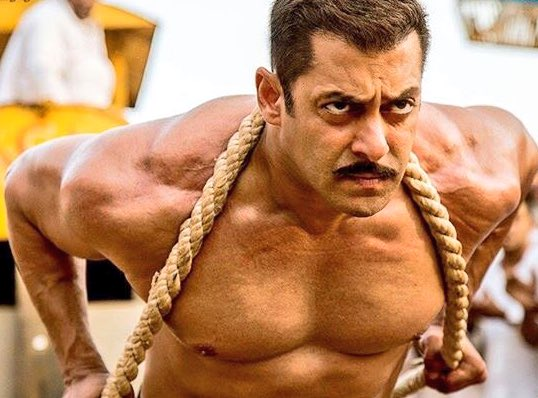 Salman Khan as Wrestler Sultan Ali Khan in Sultan, Haryana Wrestling