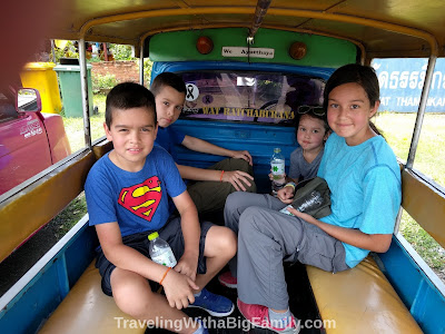 Visiting Ayutthaya Historical Park by Tuk-tuk