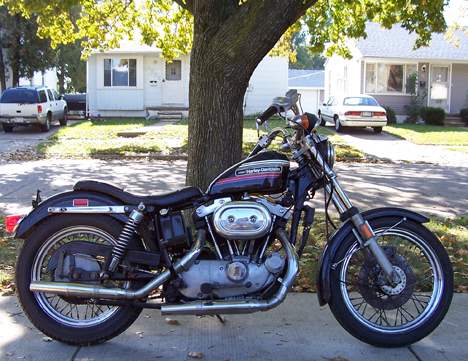 Harley Davidson XLXLCH 19731974 Motorcycle Electrical Wiring Diagram | All about Wiring Diagrams