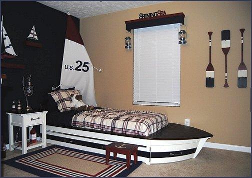 Nautical Bedroom Ideas   Decorating Nautical Style Bedrooms   Nautical  Decor   Sailing Ship Theme