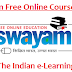 Swayam Free Online Courses 2019