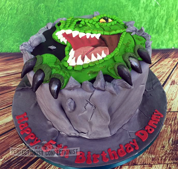 The Perfectionist Confectionist Danny T Rex Dinosaur Cake