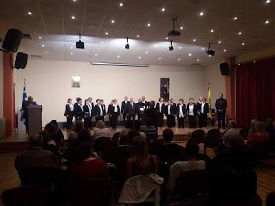 Με επιτυχία πραγματοποιήθηκε η Συναυλία της Μικτής Χορωδίας Δήμου Καλαμαριάς