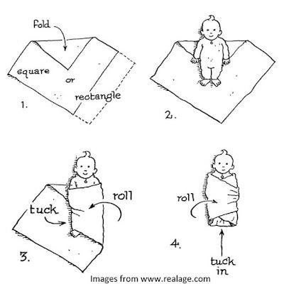 tips membedong bayi