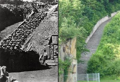 Resultado de imagen de mauthausen escalera de la muerte