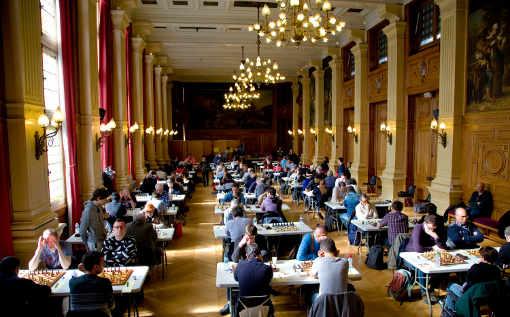 Edition de tous les records pour le 7ème festival annuel du Marais du 29 avril au 1er mai 2007 à Paris - Photo © Lutèce Echecs