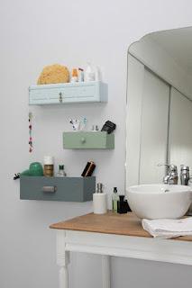 cassetti sospesi per bagno