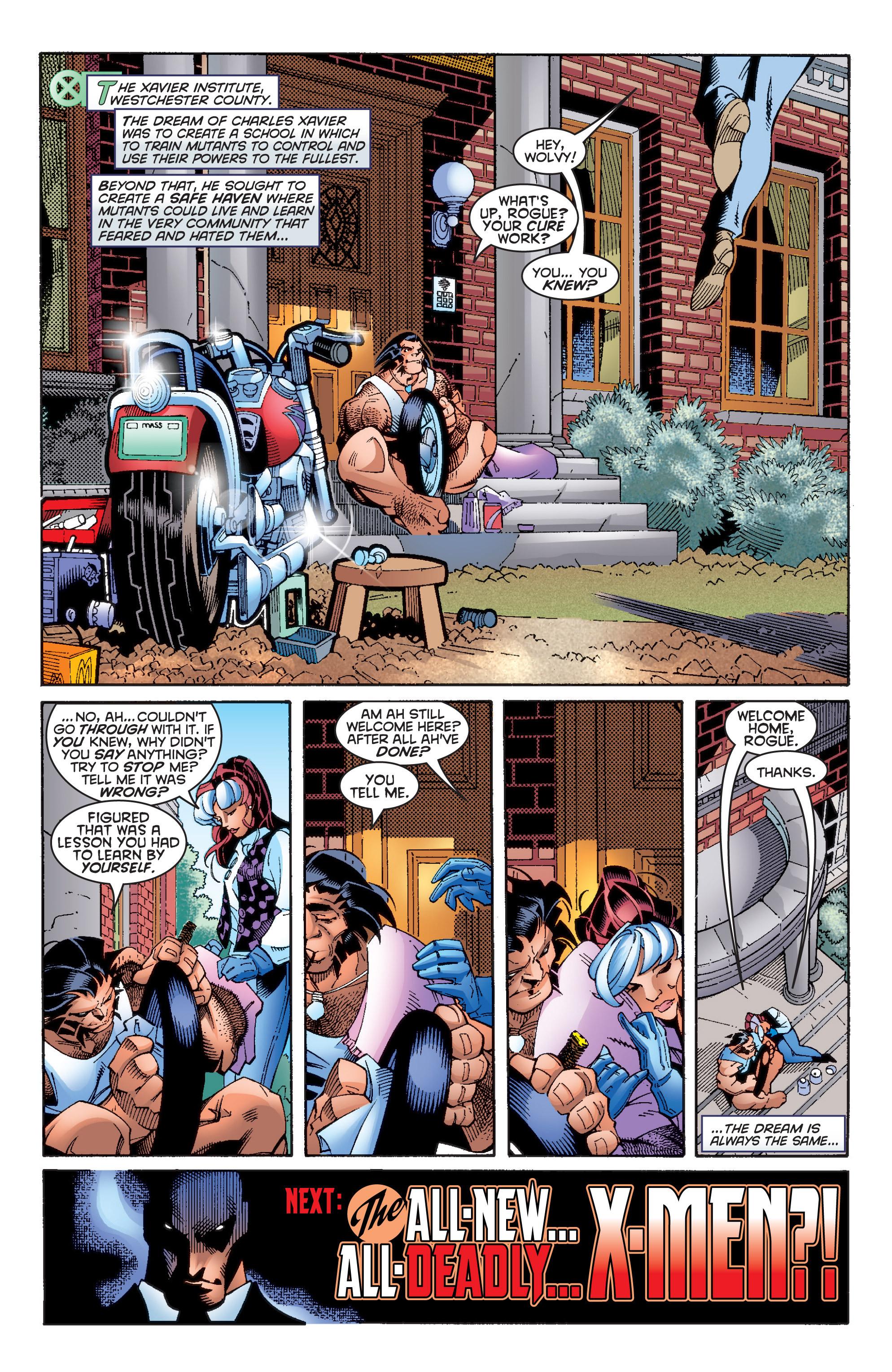 Read online Uncanny X-Men (1963) comic -  Issue #359 - 22