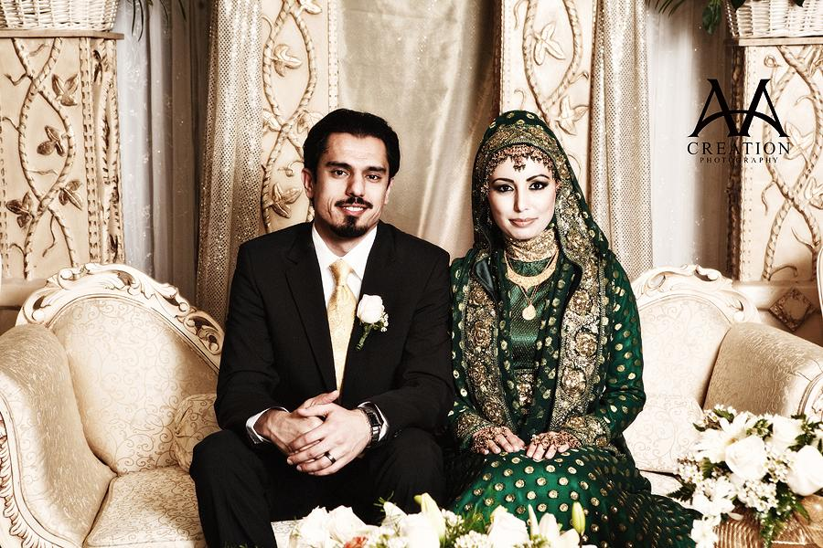 THE BRIDE WEARS HIJAB: Real Wedding #9: Zuhra & Ahmed's