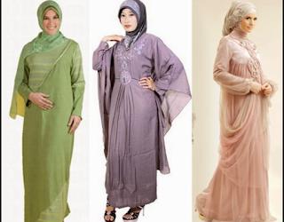 Model Baju Lebaran Wanita Muslim Gemuk