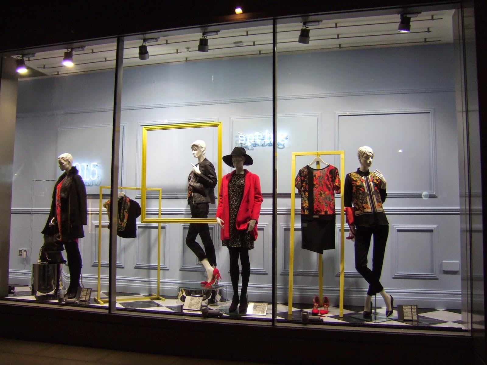 Visual Merchandising 101 Next window display