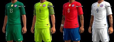 Chile GDB Copa America 2016