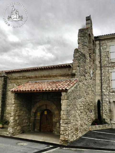 MONTELS (34) - Eglise romane Saint-André