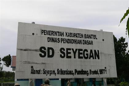 Profil Perpustakaan Sekolah SD SEYEGAN, Desa SRIHARDONO, Bantul Yogyakarta
