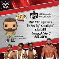WWE en el Funko HQ