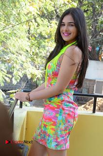 Telugu Actress Prasanna Stills in Short Dress at Inkenti Nuvve Cheppu Press Meet Stills  0075.JPG