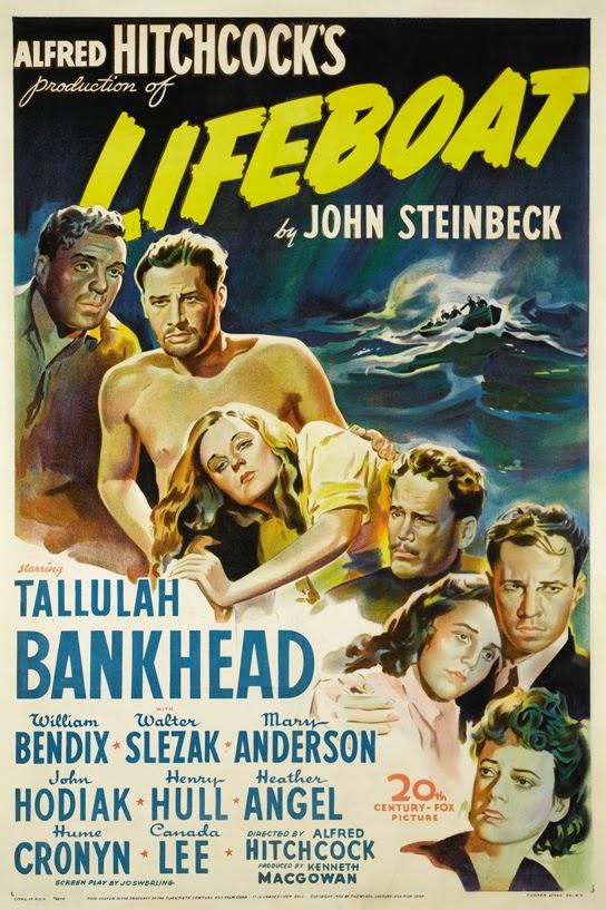 Η αφίσα της ταινίας Lifeboat