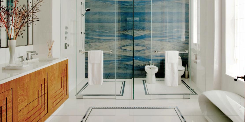 To Da Loos Magnificent Art Deco Ish Master Bathroom
