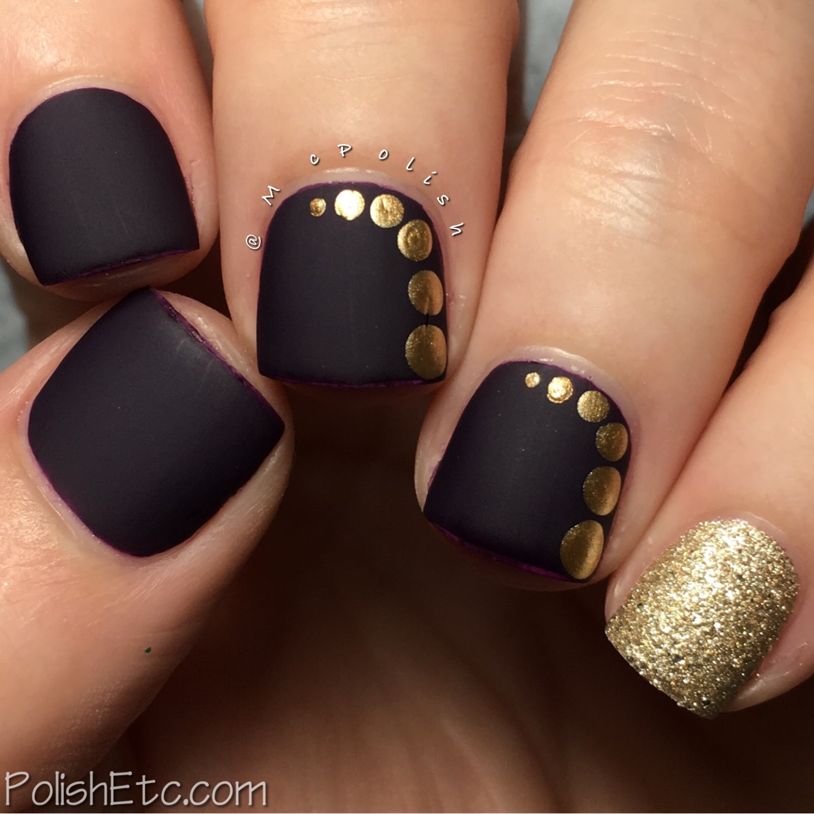 Polka Dot Nails for the #31DC2017Weekly - McPolish
