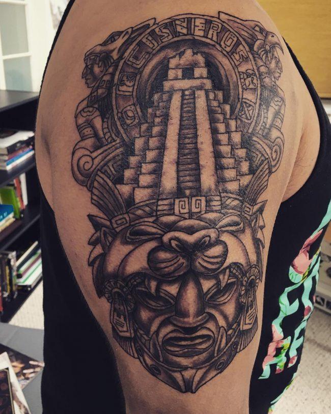 50 Diseños De Tatuajes Mayas Y Su Significado Belagoria La Web