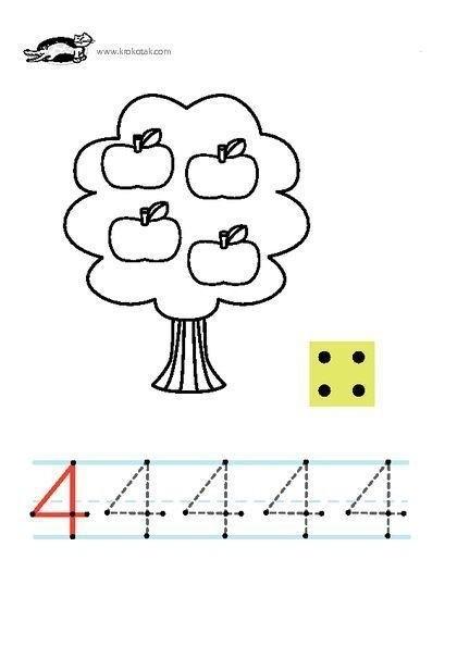 Coloring pages numbers activities - Tipss und Vorlagen