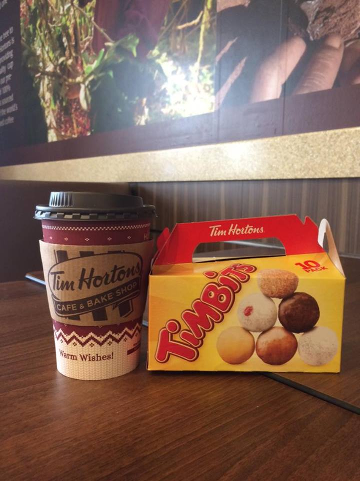 Coffee At Timmies.