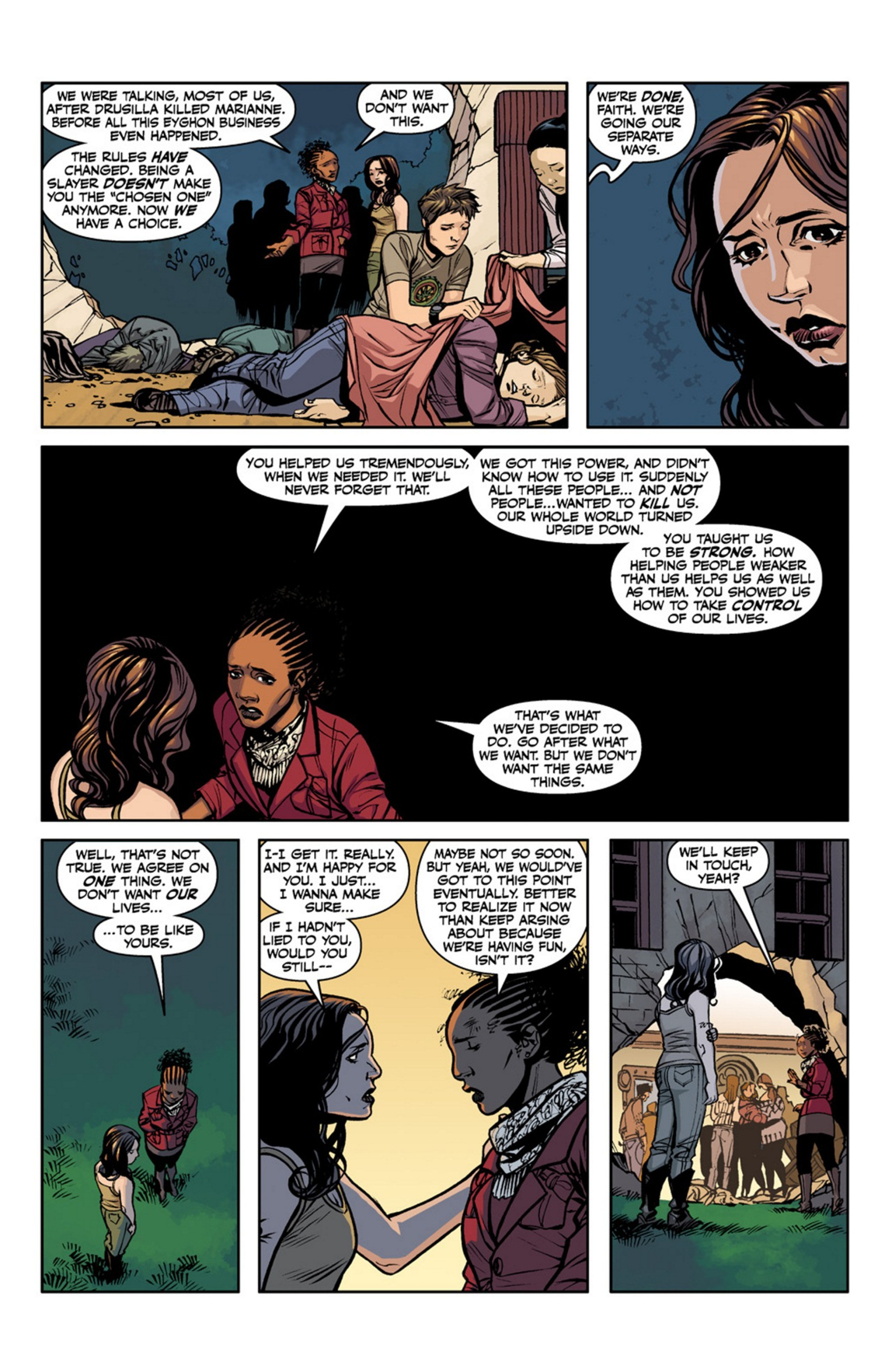 Read online Angel and Faith comic -  Issue #19 - 25