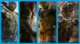 Anggota Teenage Mutant Ninja Turtles 2