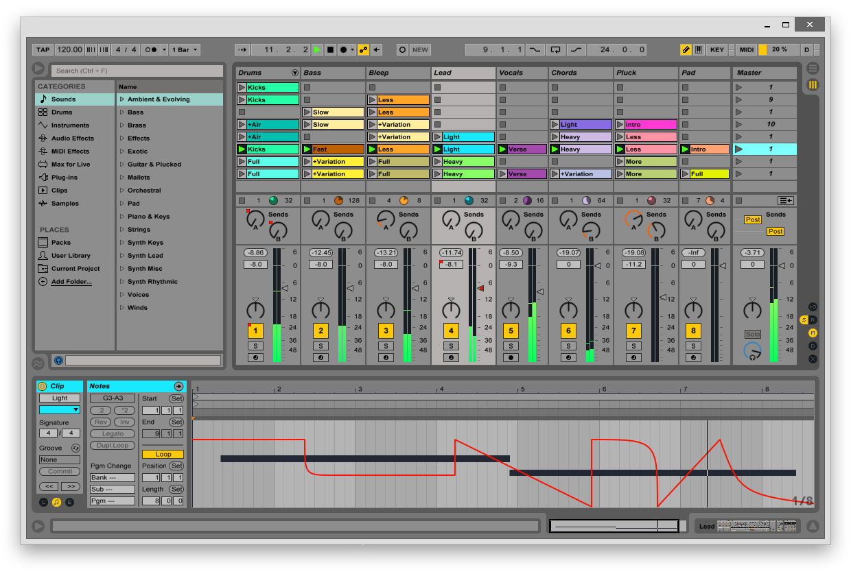 Ableton live 10 standard upg from live intro download | keymusic.