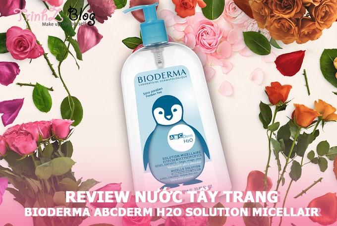 [REVIEW] Nước tẩy trang Bioderma ABCDerm H2O Solution Micellaire có gì hot?