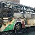 Incêndio em ônibus de estudantes universitários pode ter sido criminoso