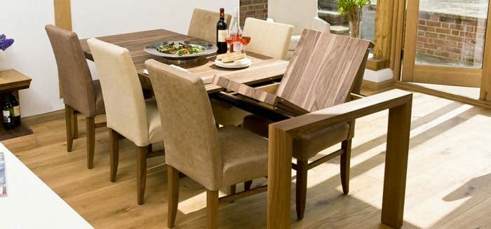 dining room tables wood and glass