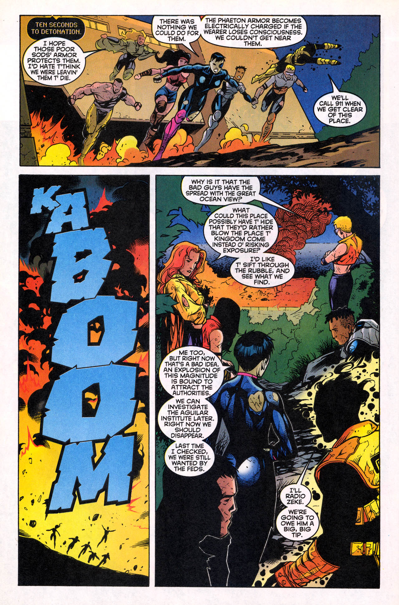 Read online X-Force (1991) comic -  Issue #82 - 36