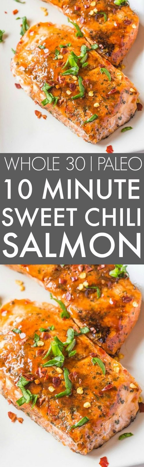 Easy Sweet Chilli Salmon