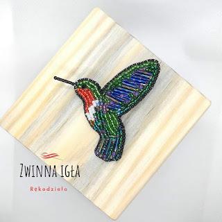 Broszka koliber