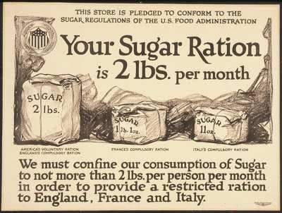 Your Sugar Ration is 2 lbs per Month