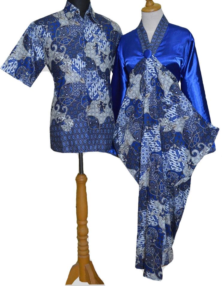Batik Sarimbit: Gamis Batik Sarimbit Kaftan