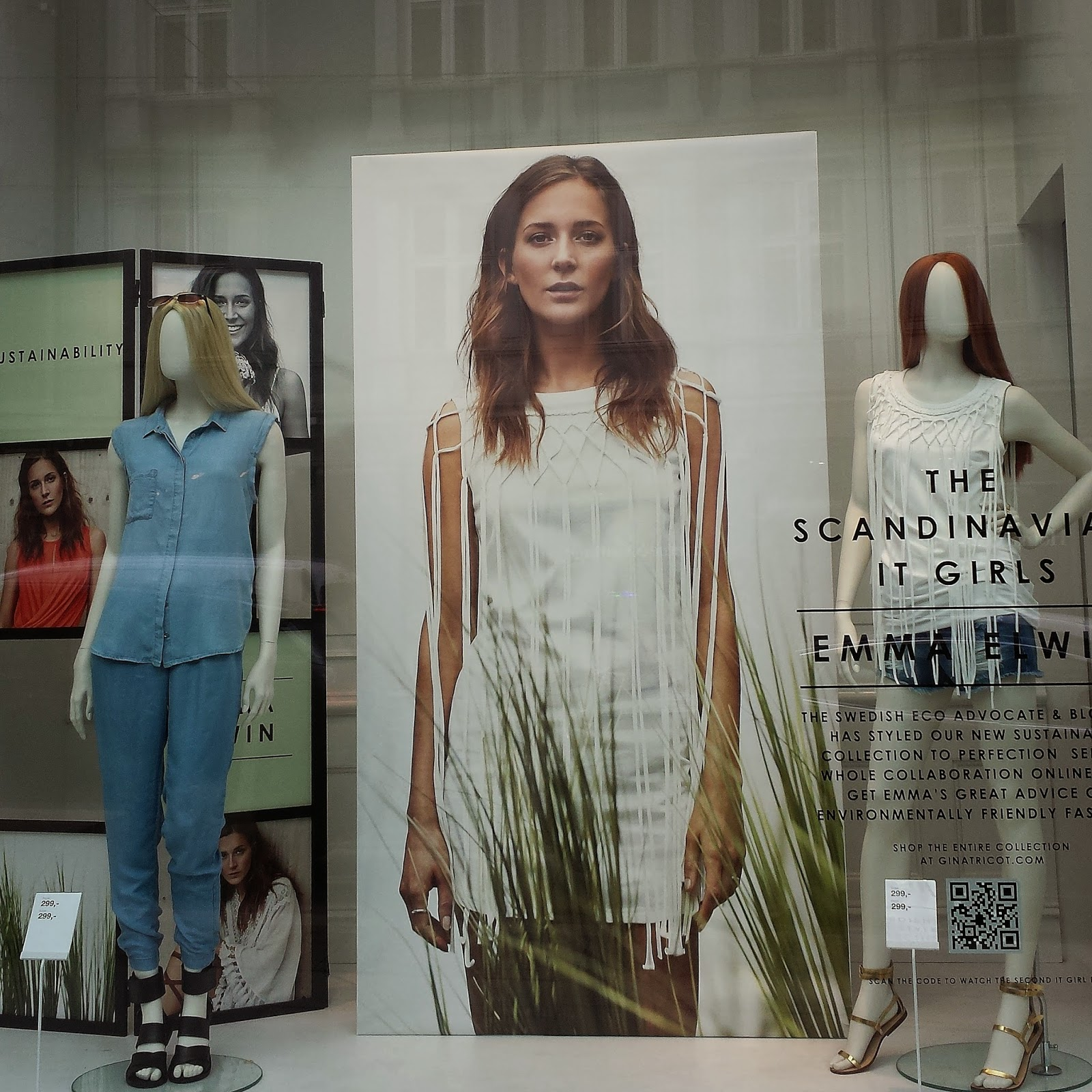 Gina Tricot Scandinavia It girls - sustainable collection