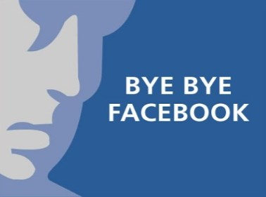 how to shutdown a Facebook account