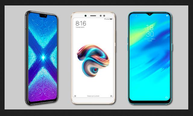Honor 8X vs Redmi Note 5 Pro vs RealMe 2 Pro
