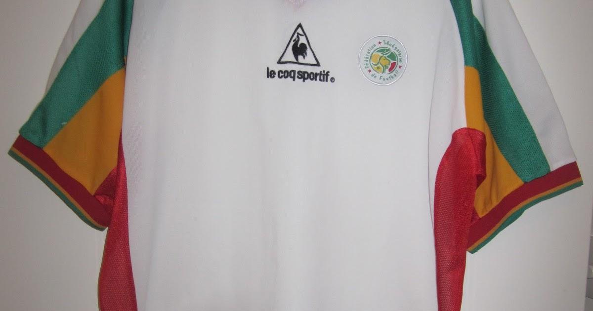 615bd4b6e My collection of football shirts  Senegal Home 2002