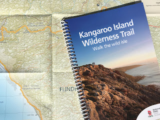 The Kangaroo Island Wilderness Trail 1:35 000 scale map and 130 page guidebook. You receive both when you check-in for the start of the walk at Flinders Chase Visitor Centre.