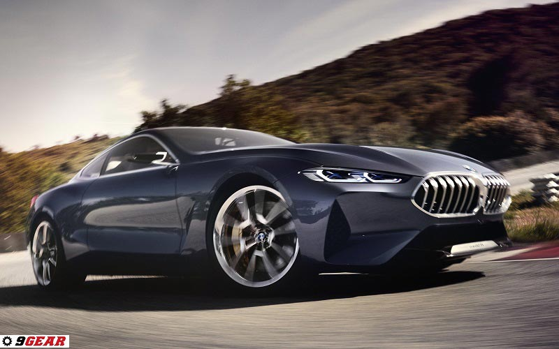 ... Of A Forthcoming BMW Model U2013 The New BMW 8 Series Coupe, Slated For  Launch In 2018 And Part Of The Biggest Model Offensive In The Companyu0027s  History.